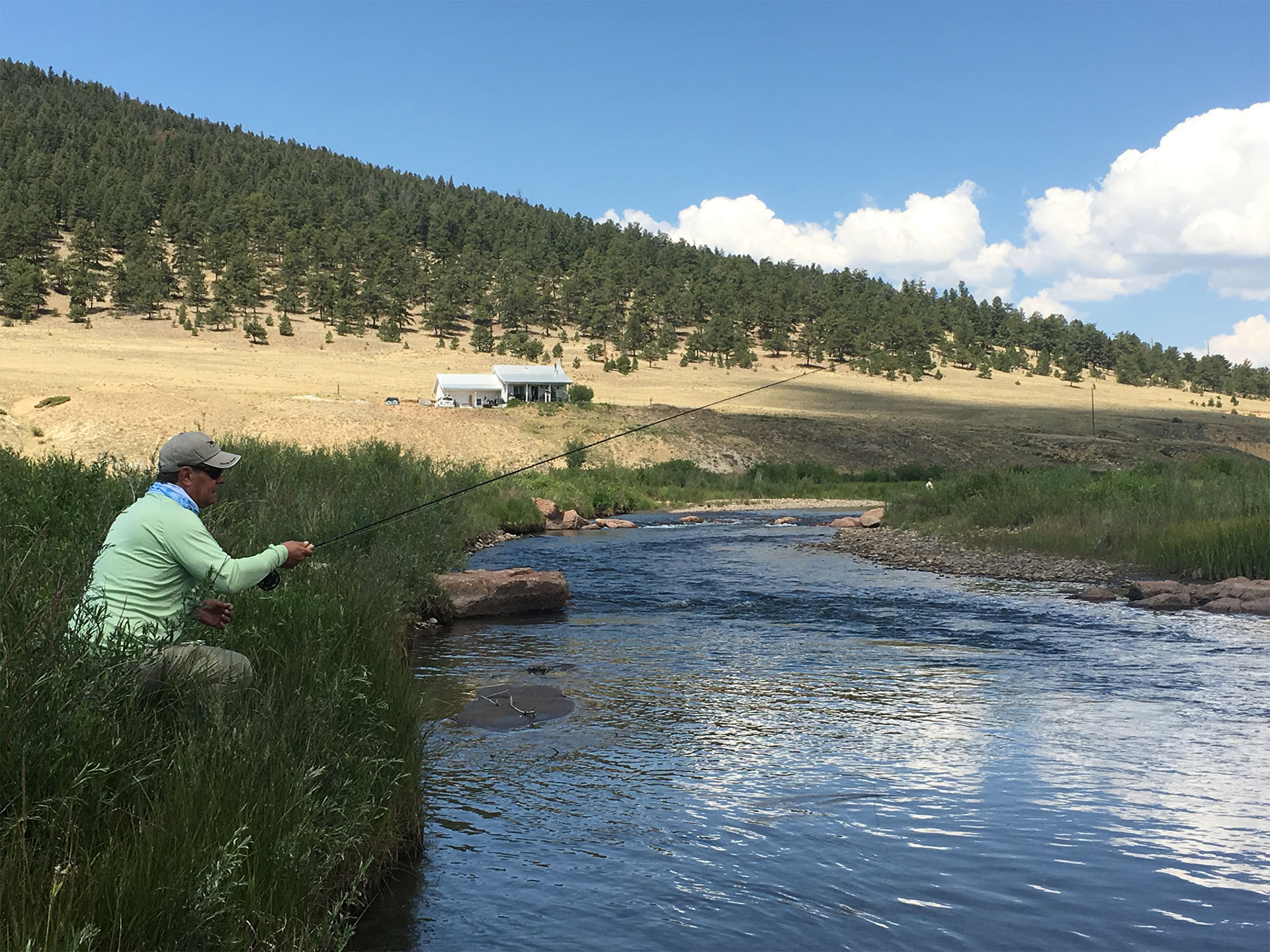 Fly Fishing at Santa Maria